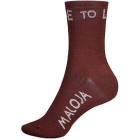 Maloja RoevelM. Socken red monk